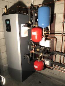 Modulerende geothermische warmtepomp